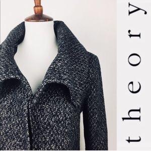 Theory Remli Marled Wool Blend Jacket